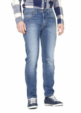 Cotton Coloured Tapered Jeans for Men
