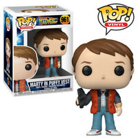 Marty McFly Puffy Vest Back to the Future Official Funko Pop Vinyl Figure
