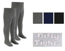 Chaussettes et collants noirs collants pour fille de 2 à 16 ans
