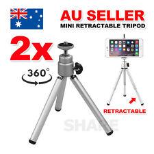 2x Universal Mini Flexible Tripod Holder Digital Camera Camcorder Ball Head