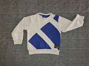 Boys Adidas Jumper sweatshirt 4-5years