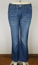 """Women's DIESEL Sfenx Jeans Size 31 x 31"""" Boot Cut Mid Rise Jeans Italy EUC"""