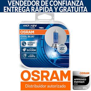 OSRAM Cool Blue Boost H7 Coche Bombillas (Pack Doble) 62210CBB-HCB 80W 5000K