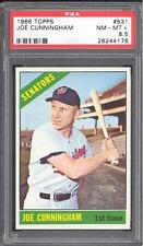 1966 Topps #531 Joe Cunningham - PSA NM-MT+ 8.5 - Washington Senators POP 4