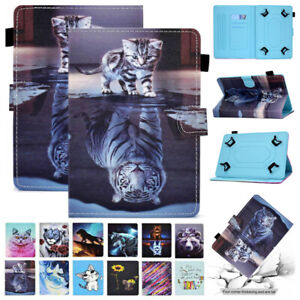 Fr Samsung Galaxy Tab 7 8 9.7 10.1 10.5 Tablet Flip Leather Universal Case Cover