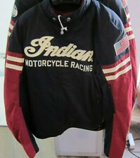 INDIAN Motorcycle Motorrad Jacke Flat Track Jacket CE Motorcycle Racing Gr. 2XL