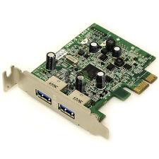 ECS U3N2-D 2 Port USB 3.0 PCIe x1 Expansion Card Dell FWGJ8