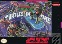 Teenage Mutant Ninja IV 4 Turtles in Time - SNES - Cart Only - New Condition