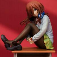 "6"" Anime The Quintessential Quintuplets Miku Nakano Figures Figurine Toys BULK"