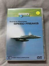 Extreme Machines - Speed Freaks (DVD, 2004) - Region 4 free postage
