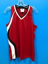 NEW Teamwork Athletic Apparel Youth Girl's Basketball Jersey Top Color Red Black