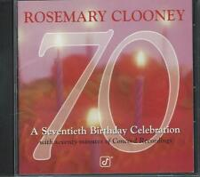 CD: ROSEMARY CLOONEY - 70: A Seventieth Birthday Celebration