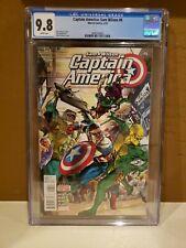 Captain America: Sam Wilson #6 CGC 9.8 1st Full Joaquin Torres Falcon Disney MCU