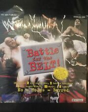 WWF WWE Wrestling Battle For The Belt Board Game Boardgame Vintage