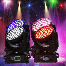 4Pcs 36x10W Zoom Moving Head Light 360W RGBW Led DJ DMX 16CH DJ Party Wedding