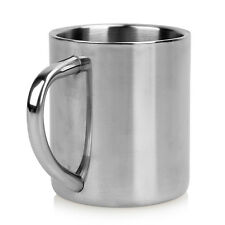 Portable Student Stainless Steel Double Wall Mug Travel Tumbler Coffee Tea Cup #