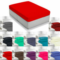 Fitted percale Bed Sheet Single Double, King  and superking and  pillows cases