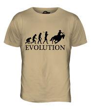 COWBOY EVOLUTION OF MAN MENS T-SHIRT TEE TOP GIFT CLOTHING FUNNY