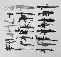 "random lot 35 GI Joe Cobra 3.75""  figure's  Accessories Guns sword  Weapons K8"
