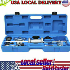 Comprehensive 16PC Axle Slide Hammer Dent Panel Bearing Puller Set Garage Tool T