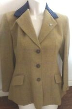"Caldene Silverdale Tweed Jacket - Sage, Maids 30"" rrp £127"