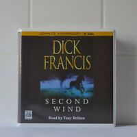 Second Wind: by Dick Francis - Unabridged Audiobook - 8CDs