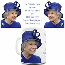 Twisted Envy Celebrates Queen Elizabeth II 90th Birthday Ceramic Mug