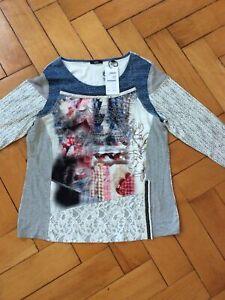 Biba XL Shirt mit Strass NEU