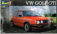 VW GOLF MK2 GTI (3-DOOR) 1:24 REVELL PLASTIC MODEL KIT * BOXED & UNMADE *