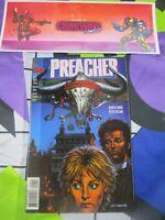 vtg preacher #8 vertigo DC Comic book hi res pics