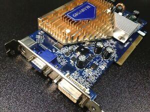 ✔ tested Gigabyte 7600 GS Silent 256 MB DDR2 SDRAM AGP rare!