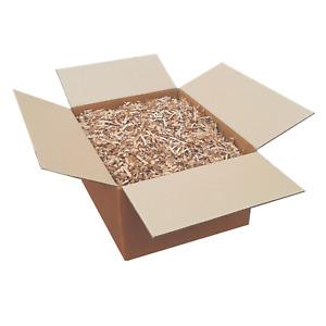 SHREDDED VOID FILLER PAPER GIFT BOX 100% RECYCLED PACKAGING BROWN SHREDDED UK