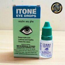2 X ITONE Eye Care Ayurvedic & Herbal Eye Drops, 10 ml, Fresh Stock FREE SHIP