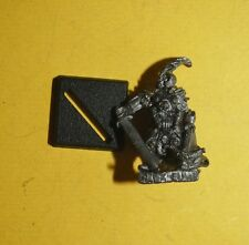 WARHAMMER-Dark Elf-CLASSIC DARK ELF WARRIOR # 2