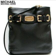 Michael Kors Hamilton Large Crossbody Messenger Bag & Wallet Black