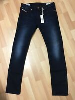 MEN Diesel SHIONER Stretch Denim 0R98J DARK BLUE SLIM W30 L32 H6 RRP£170
