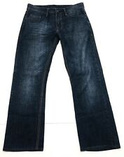 Buffalo David Bitton Mens 31x29 Driven Straight Dark Wash Jeans Flap pocket (547