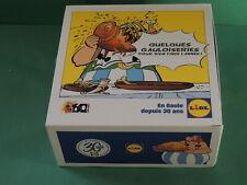 Asterix & Obelix LIDL 60 ans boite cartonnée avec fermeture magéntique - Box