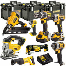 DeWalt DEWT4TKIT97 18V Li-ion 8 Piece KIT with 2 x 5Ah Batteries, Charger & Case
