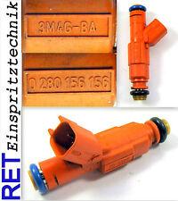 Einspritzdüse BOSCH 0280156156 Ford Focus 1,8 3M4G-BA gereinigt & geprüft