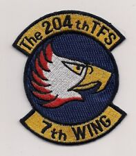 JASDF 204th TACTICAL FIGHTER SQN patch JAPANESE AIR SELF DEFENSE FORCE
