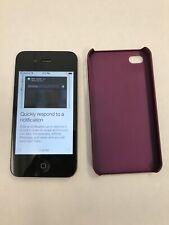 (Grade A) Apple iPhone 4s 16GB Black (Unlocked) A1387 (carrier: Telus)