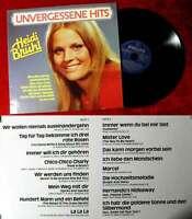 LP Heidi Brühl: Unvergessene Hits (Philips 29 723 4) Club Edition D 1982