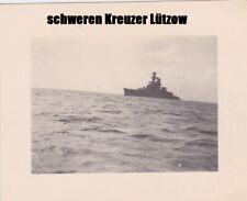 schwerer Kreuzer Lützow / Deutschland in Kiel Laboe 1939 Kriegsmarine  #24
