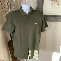 Banana Republic Men's Short Sleeve Solid Pique Polo Shirt Large