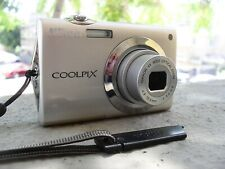 NIKON COOLPIX S4000 12mp 4x ZOOM BOXED WITH ACCESSORIES - TESTED, WORKING GREAT!