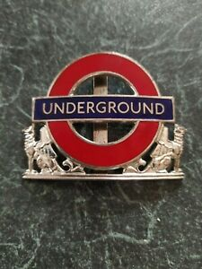 Vintage LONDON UNDERGROUND (LONDON TRANSPORT) INSPECTORS BADGE