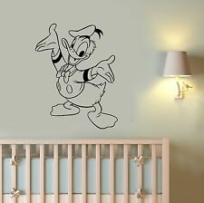 Donald Duck Vinyl Wall Sticker Disney Cartoon Duck Tales Decal Kids Room Decor 3