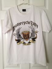 "BIKE WEEK T-SHIRT 2006 DAYTONA BEACH, FL. 65TH ANNUAL""WILD RIDE ON TOUR""  USA"