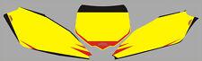Adesivi Tabelle Honda CRF - crystal/adesivi/adhesives/stickers/decal